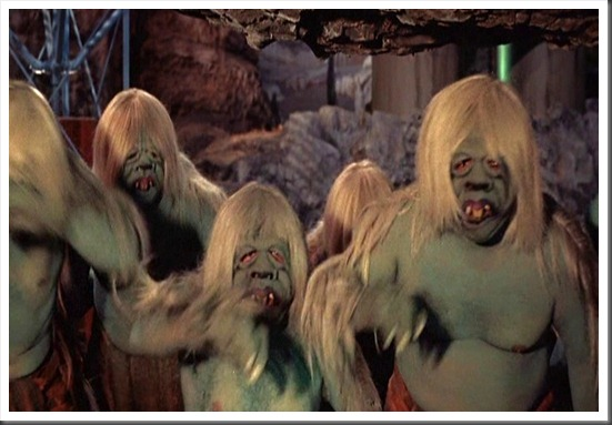 172. The Morlocks don`t like light