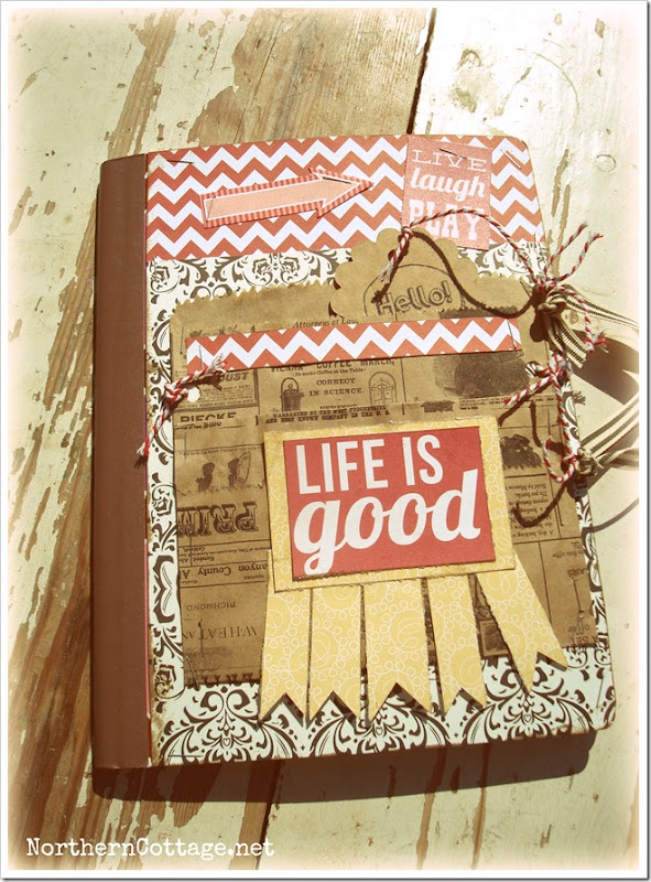 {Northern Cottage} life is good journal