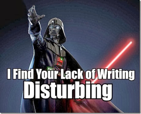 You Should be Writing Darth Vader