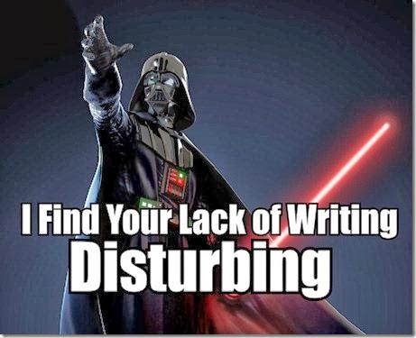 You Should be Writing Darth Vader