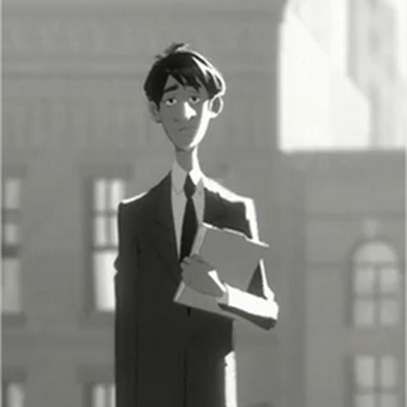 Paperman, corto animado de Disney nominado al Oscar