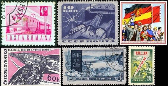 communist stamps