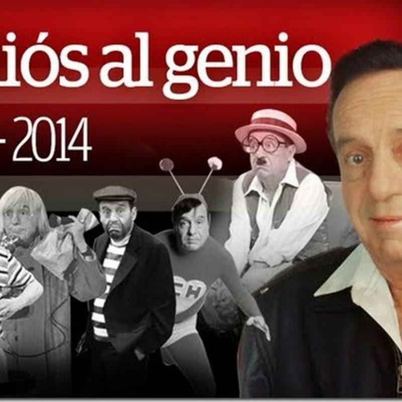 Chespirito murió a los 85 años en Cancún