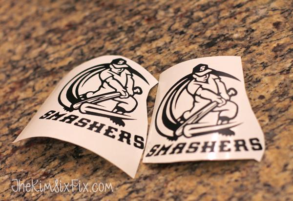 Helmet stickers smashers