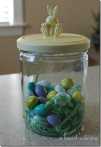 Yellow Bunny Jar