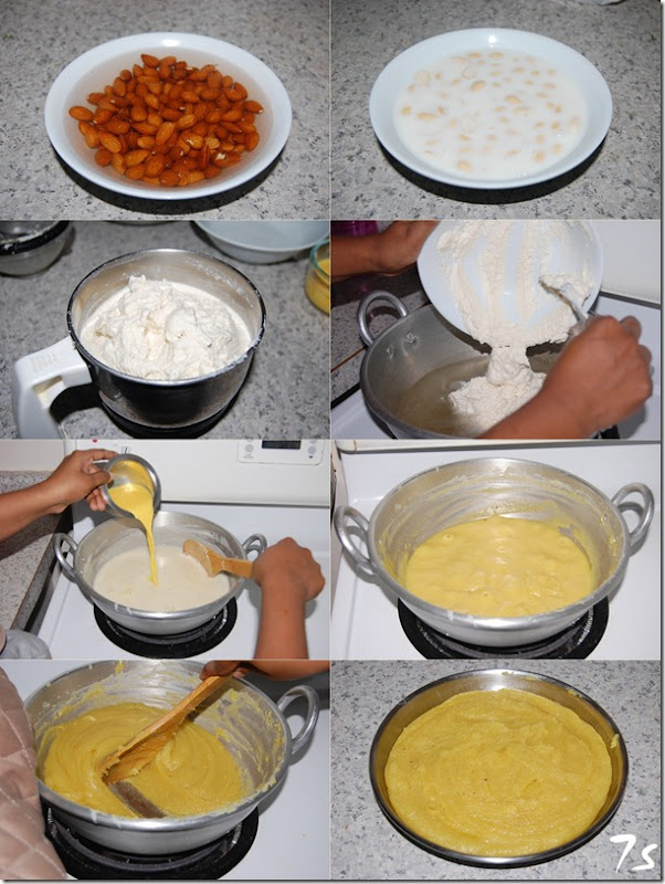 Badham halwa process