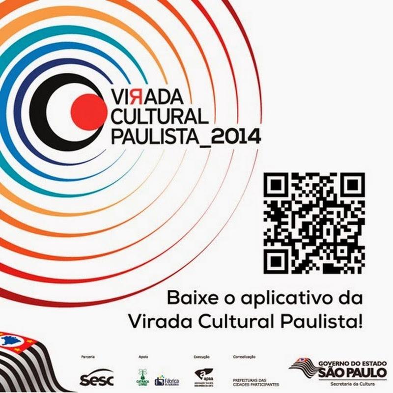 Virada Cultural Paulista 2014 acontece neste fim de semana