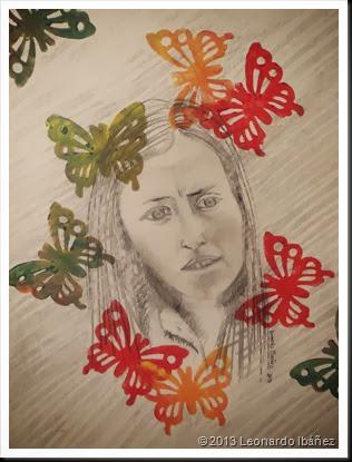 La dama de las marposas, Ingrid