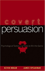 Cover of Kevin Hogan's Book Covert Persuasion