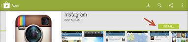 การติดตั้ง instagram ใน คอมพิวเตอร์