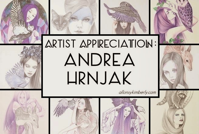 Artist Appreciation: Andrea Hrnjak | allonsykimberly.com