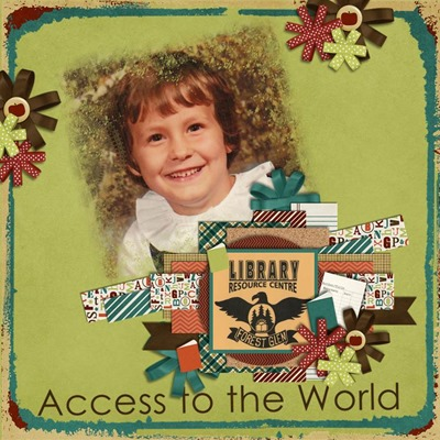 Leaving a Legacy Designs - Back 2 School - Access to the World