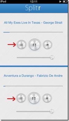 Splitr per iOS