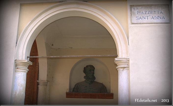 Piazzetta Sant'Anna, Foto2, Ferrara, Emilia Romagna, Italia - Sant'Anna Square, Photo2, Ferrara, Emilia Romagna, Italy - Property and Copyrights of FEdetails.net (c)