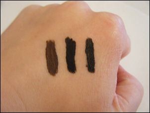 Coastal Scents True Black Gel Liner Swatch