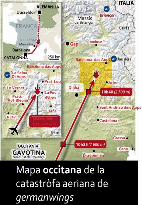 mapa de la catastròfa de Barcilona 2