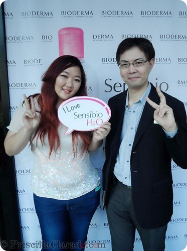 Priscilla event Bioderma Indonesia beauty blogger photo