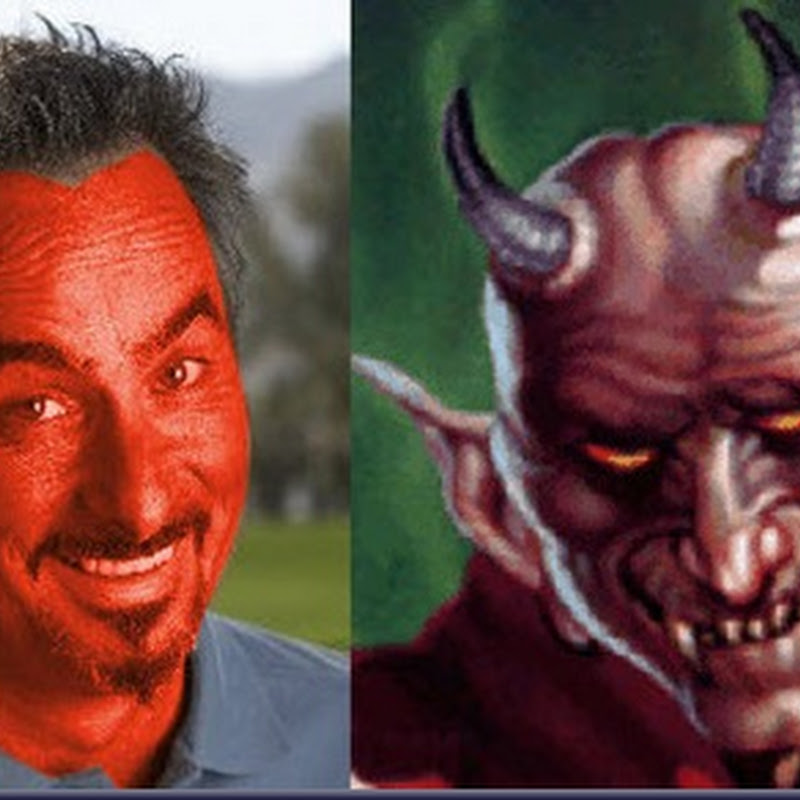 Separated At Birth: David Feherty and The Devil