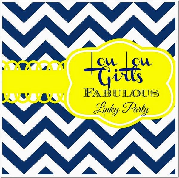 lou lou girls linky party