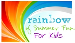 Rainbow Color Books Rainbow of Summer Fun series