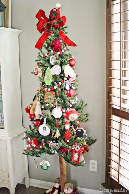 Family Ornament Christmas Tree