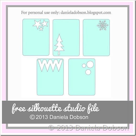 Holiday PL cards by Daniela Dobson