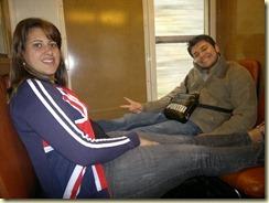 Trem com destino ao Palácio de Versalhes