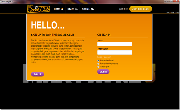 how to join social club in gta v