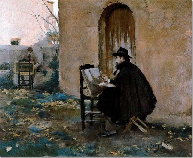ramon casas i carbo_retrats_1890