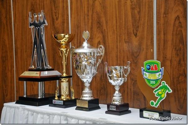 Troféus conquistados pela Seleção da OAB RN