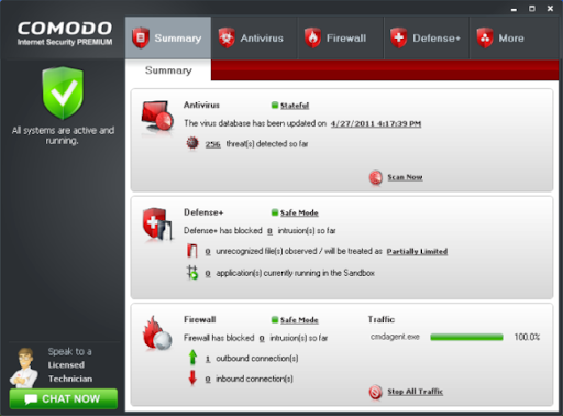 Descargar Comodo Internet Security gratis