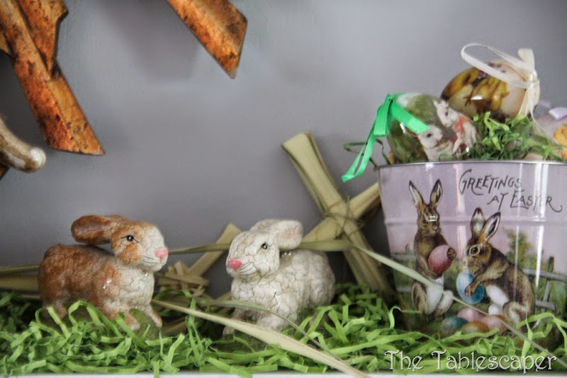 Easter Mantel - The Tablescaper07