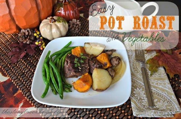 The Stonybrook House's Easy Pot Roast and Vegetables