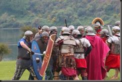 Romans and Auxila Clash