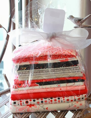 valentine quilt kits available at The Fabric Mill