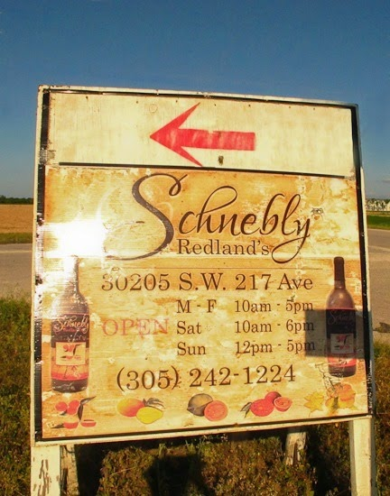 Schnebly Winery Sign