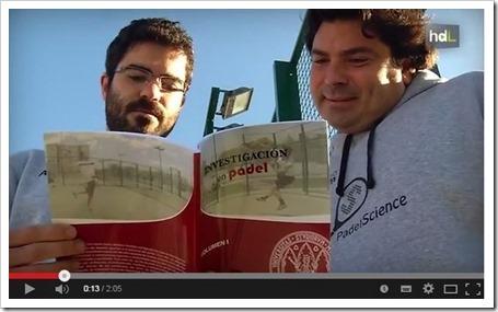 PadelScience en Historias de Luz. Un repaso en imágenes sobre el 1er portal web científico de pádel.