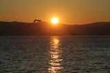 Coucher de soleil lac Baïkal