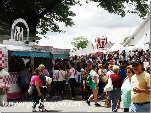 Country Living Fair Rhinebeck NY 2013 fair food