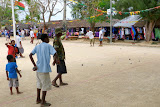 Playing Bowles in the Town Square on a Sunday Afternoon - Port Vila, Vanuatu