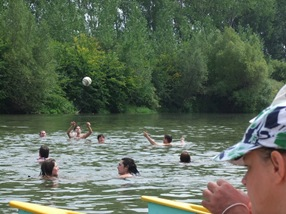 voleybol en el Mosoni Duna