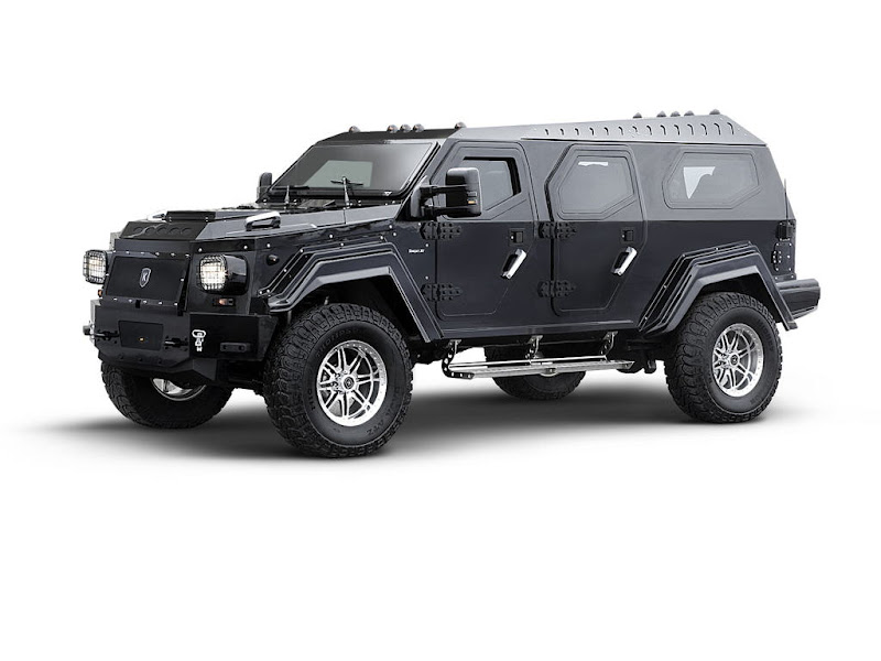Comparison of KNIGHT with HUMMER: THIS is an IRON DEVIL ..!!!!!!