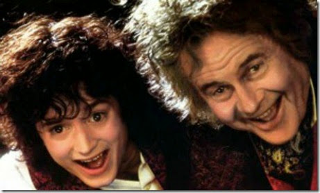 Frodo and Bilbo (2)