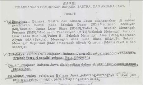 Pergub Jawa Tengah no 57 th 2013