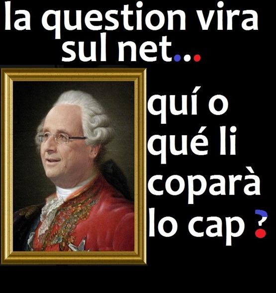 François Hollande Lo Cap de copar