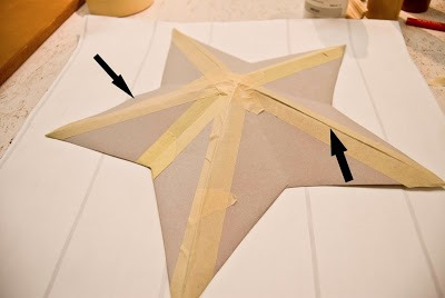 DIY make your own primitive star