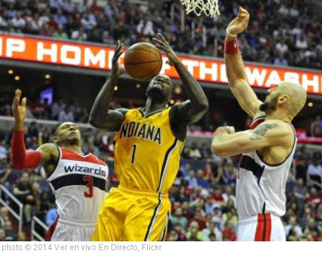 'Watch Washington Wizards vs Indiana Pacers Live' photo (c) 2014, Ver en vivo En Directo - license: https://creativecommons.org/licenses/by-sa/2.0/