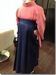 袴着付けにハーツヘアーズ沼田店へ (2)