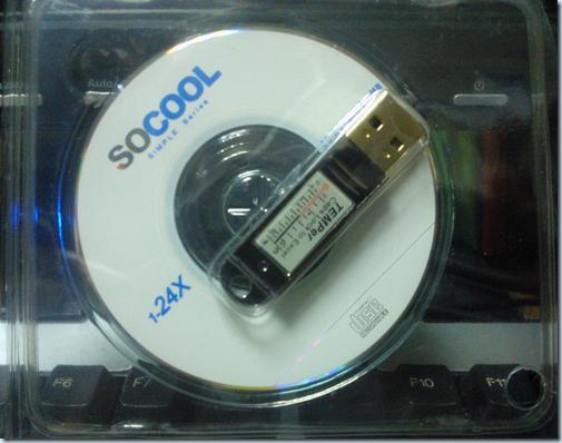 USB溫度計