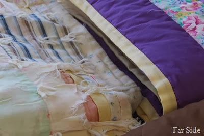 Well worn quilt